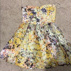 GUESS strapless summer dress 14